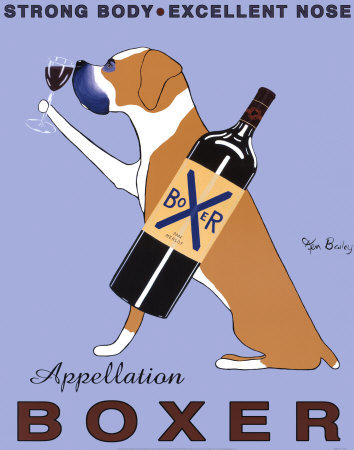 Boxer Merlot by Ken Bailey