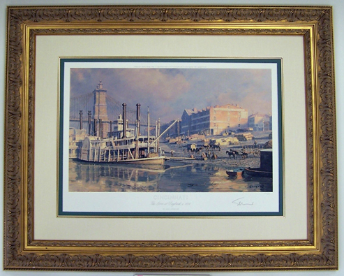 Cincinnati Daybreak 1884 by John Stobart
