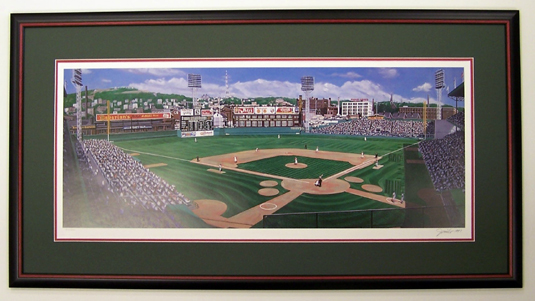 Crosley Field Matinee by Jurinko
