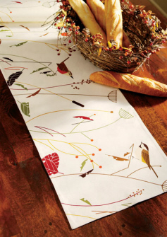 Great Harperu0027s Harvest Table Runner