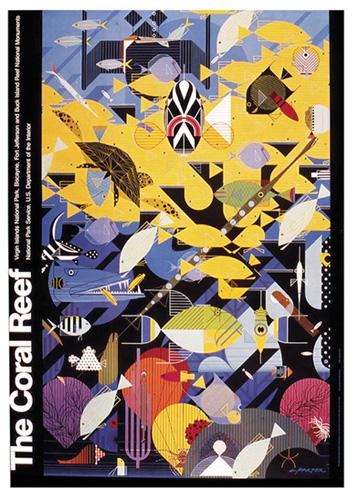 Coral Reef by Charley Harper