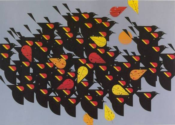 Birds of a Feather by Charley Harper