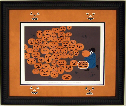 Jack'o'Latern Time Again by Charley Harper