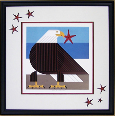 Stars and Stripes by Charley Harper
