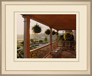 Winter House Porch by Martha Stewart