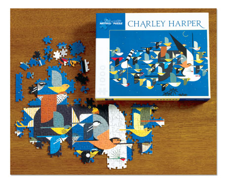 Charley Harper Mystery of the Missing Migrants jigsaw puzzle