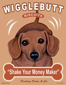 Wigglebutt Biscuits by Krista Brooks
