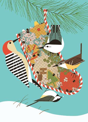 Backyard Birds by Charley Harper