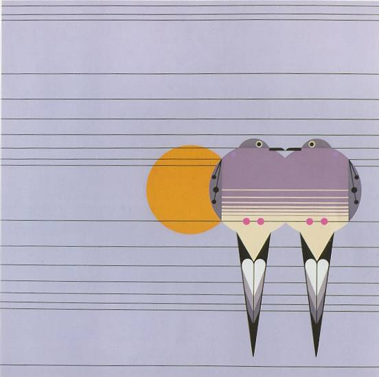 Lovey Dovey by Charley Harper
