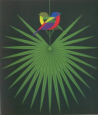 Flamboyant Feathers by Charley Harper