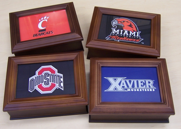 university desk boxes at Fabulous Frames & Art