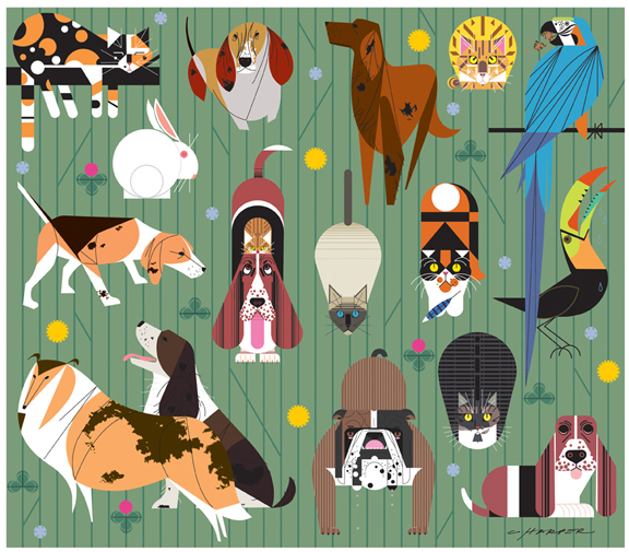 Friends of Our Families by Charley Harper