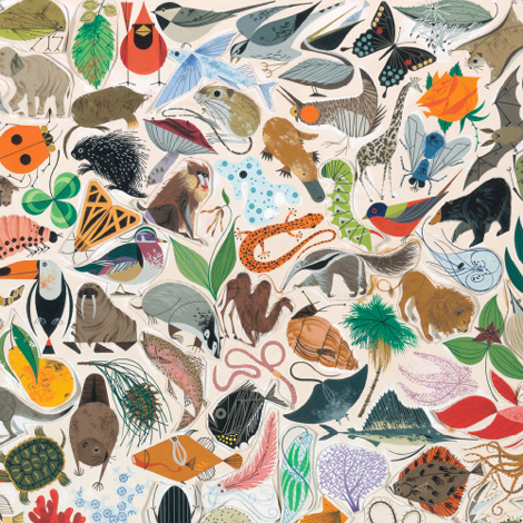 painting by Charley Harper
