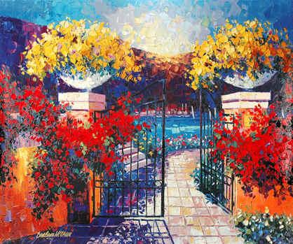 Villa Rosa by Barbara McCann