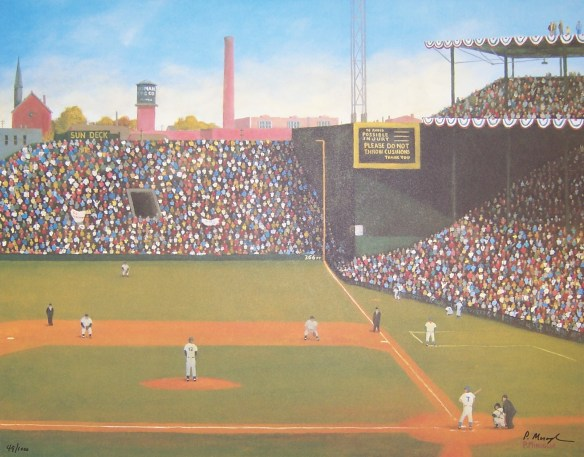 Crosley Field 1940 by P. Miraglia