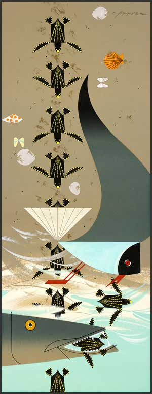 Perilous Passage by Charley Harper