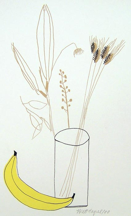Banana and Weeds by Brett Harper