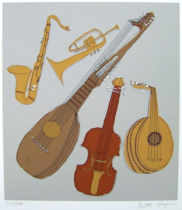 Musical Instruments by Brett Harper