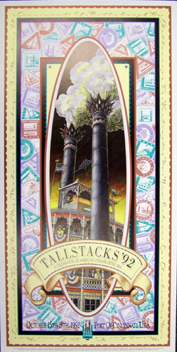 Tall Stacks 1992 poster