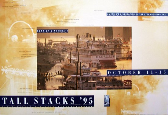 Tall Stacks 1995 poster