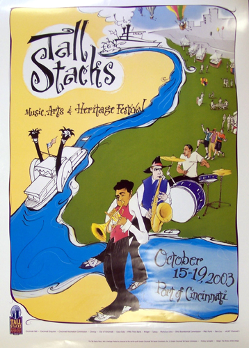 Tall Stacks 2003 poster