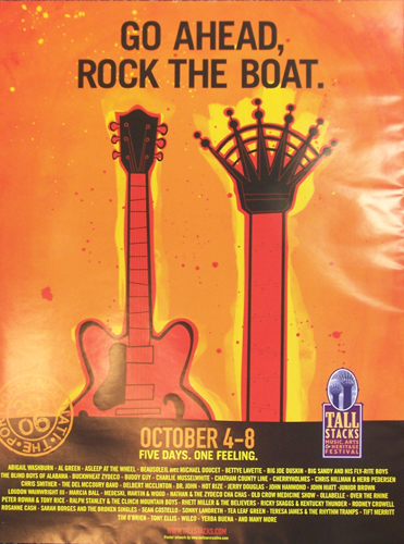 Tall Stacks 2006 poster
