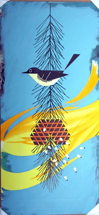 original painting by Charley Harper