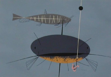 Catfish by Charley Harper
