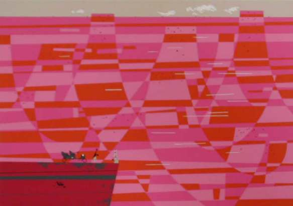 Grand Canyon by Charley Harper