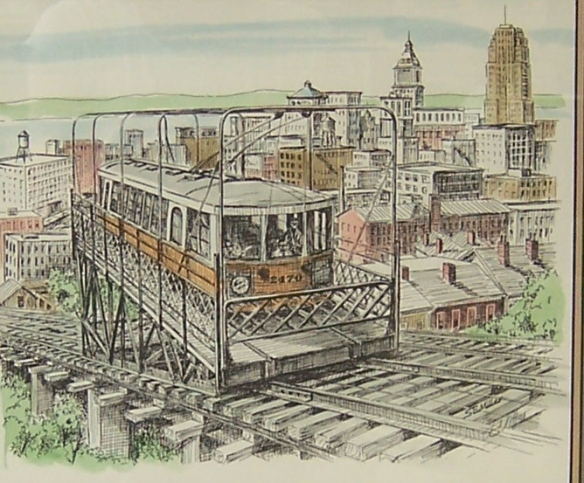 limited-edition print of Cincinnati by S.E. Miller
