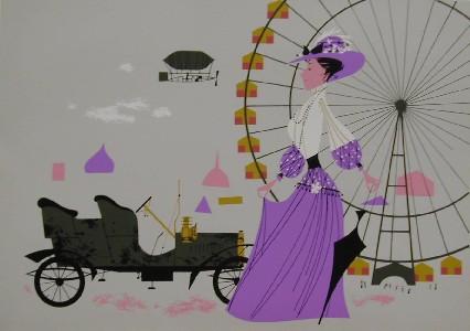 St. Louis World's Fair by Charley Harper