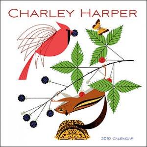 Charley Harper 2010 mini wall calendar