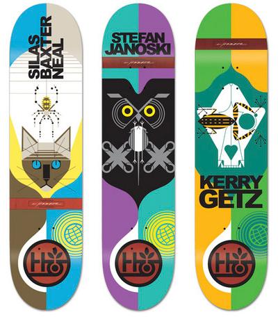 Charley Harper Skateboard Decks  f8e8fecee44
