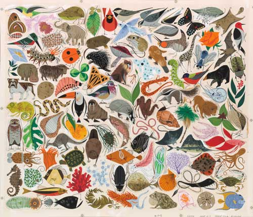 Tree of Life by Charley Harper