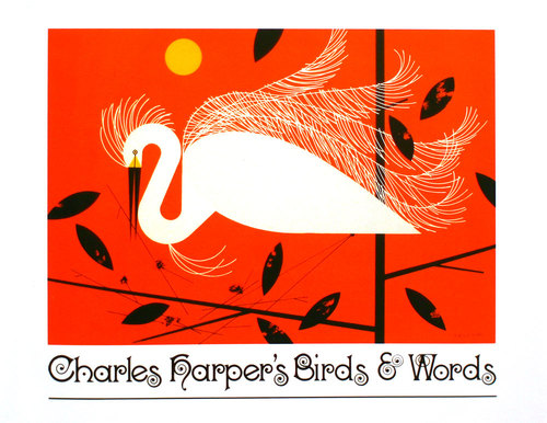 Birds & Words by Charley Harper