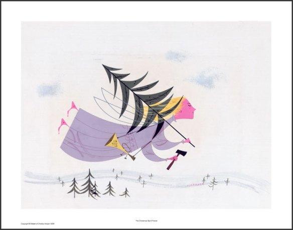 The Christmas Spirit Firever by Charley Harper