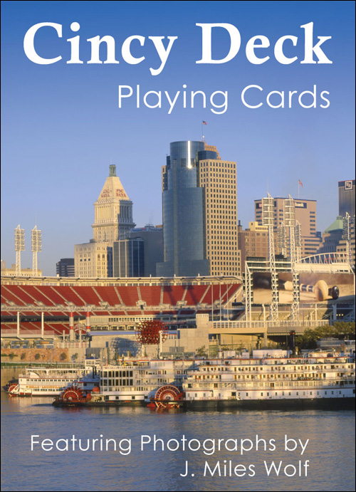 Cincinnati playing card deck by J. Miles Wolf