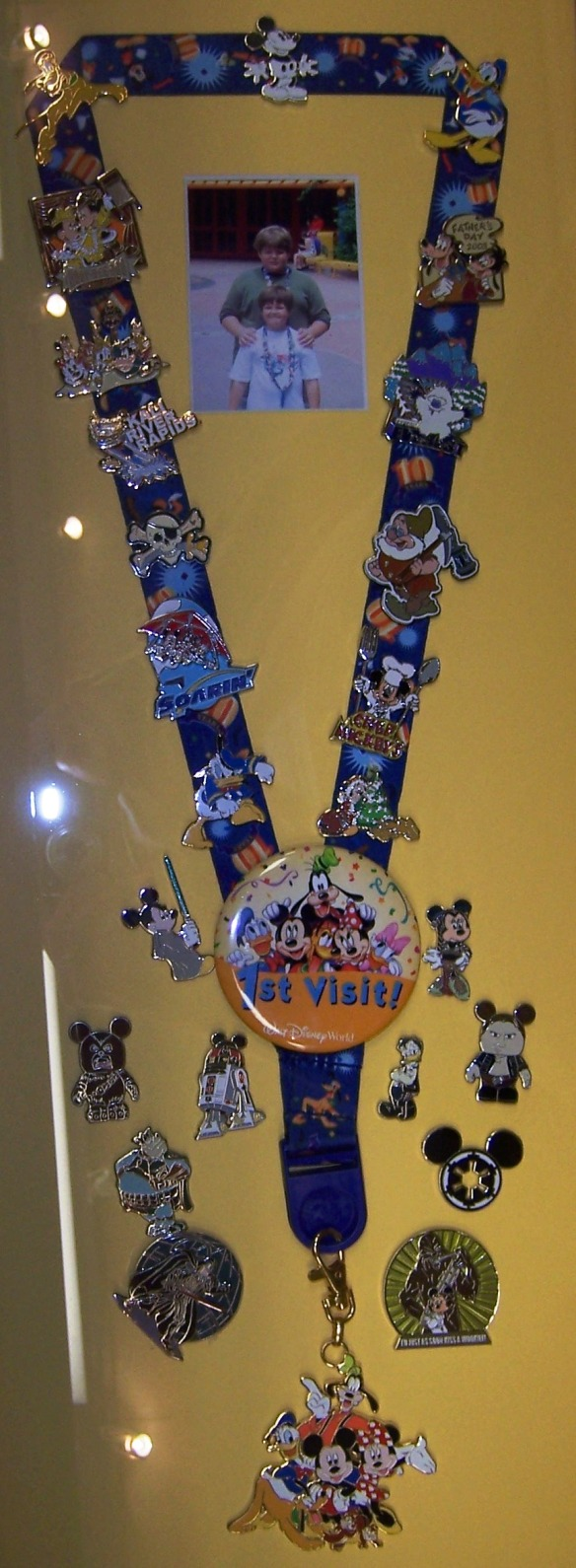 set of Walt Disney World pins