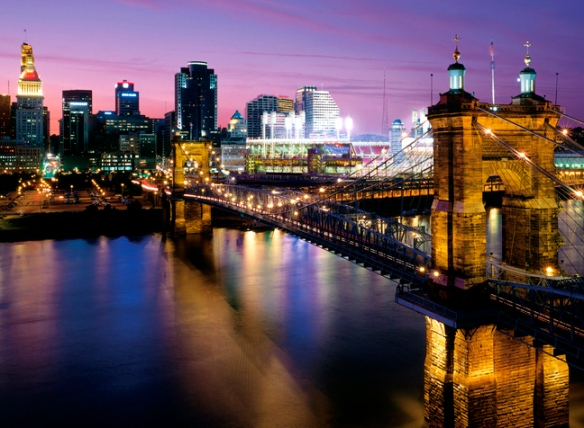 Cincinnati photograph by J. Miles Wolf