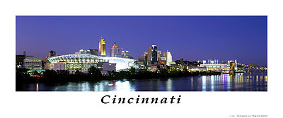 Cincinnati photograph by J. Miles Wolf