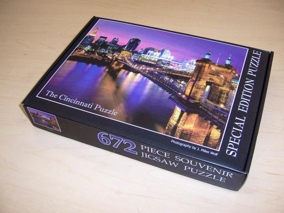 Cincinnati jigsaw puzzle by Miles Wolf