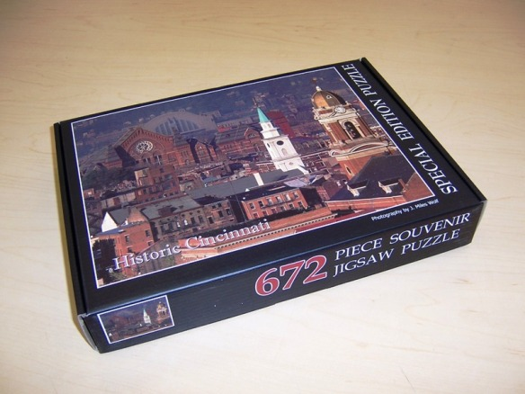 Historic Cincinnati jigsaw puzzle by Miles Wolf