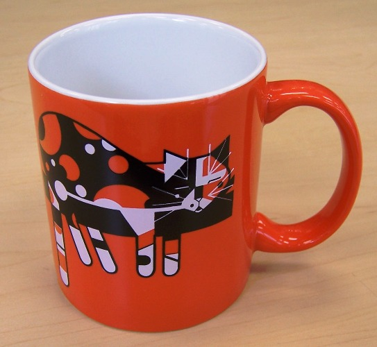 Limp on a Limb coffee mug by Charley Harper