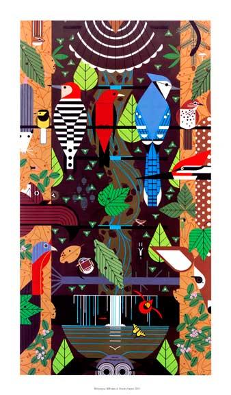 Birducopia by Charley Harper