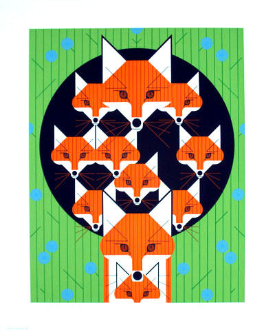 Foxsimiles by Charley Harper