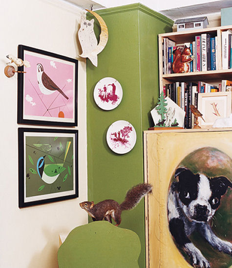 the home of Amy Sedaris in Manhattan