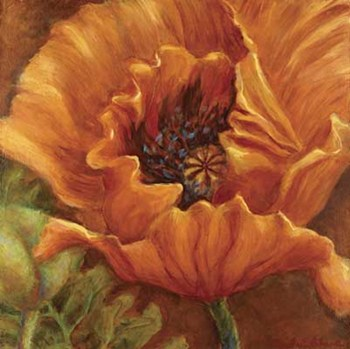 Orange Poppy by Nicole Etienne
