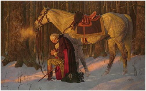 Prayer at Valley Forge by Arnold Friberg