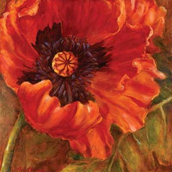 Red Poppy by Nicole Etienne