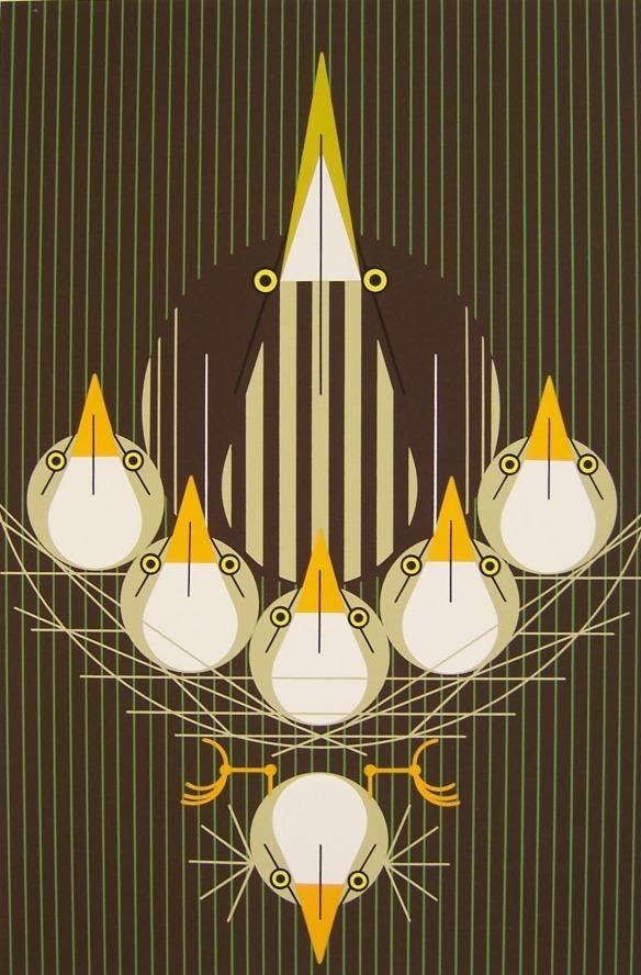 Bittern Suite by Charley Harper